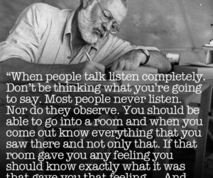 quotes, think, and love image