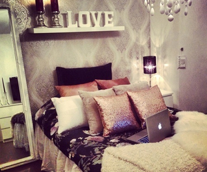 apple, bedroom, and dress image