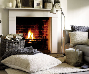 fireplace, home, and cozy image