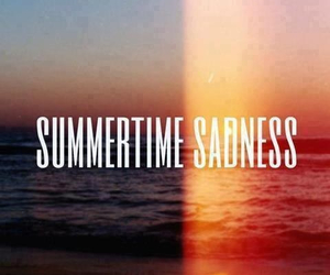 lana del rey, summer, and summertime sadness image