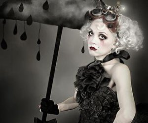 artists, fashion, and gothic image
