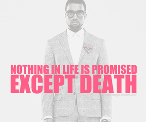 kanye west, quote, and text image