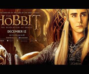 elf, movie poster, and the hobbit image