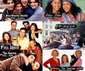 full house, sabrina the teenage witch, and friends image