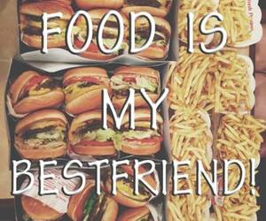food, bestfriend, and love image
