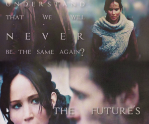 hunger games, katniss everdeen, and gale hawthorne image