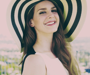lana del rey, lana, and smile image