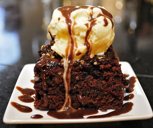 chocolate, food, and icecream image
