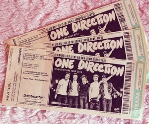 one direction, ticket, and 1d image