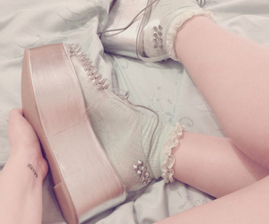 accessories, creepers, and fashion image