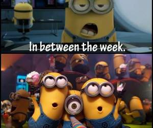 minions, party, and weekend image
