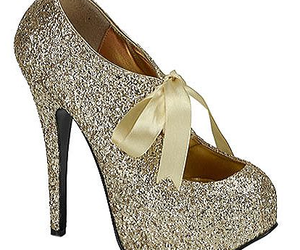 glitter, fashion, and heels image
