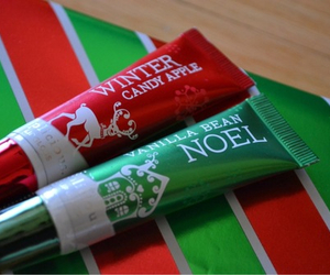 christmas, green, and red image