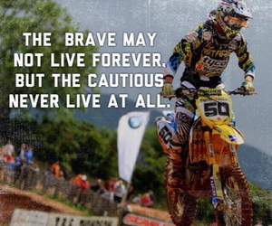 brave, dirt bike, and live image