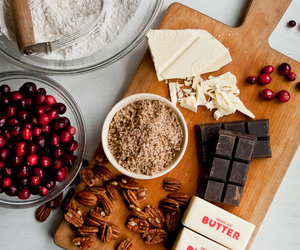 baking, chocolate, and cooking image