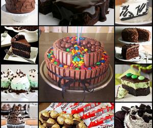 brownies, chocolate, and crema image