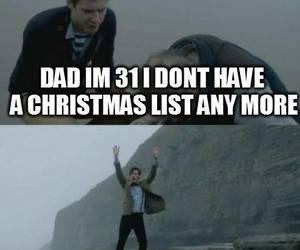 doctor who, matt smith, and christmas list image