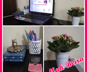 flor, mesinha, and notebook image