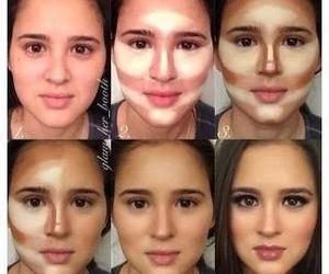 makeup, make up, and face image