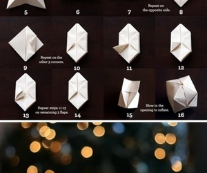 diy, light, and Paper image