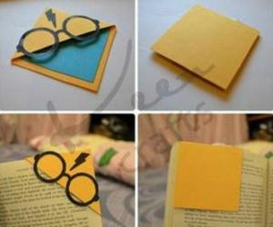 bookmark, harry potter, and diy image