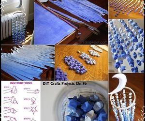 blue, diy, and stars image
