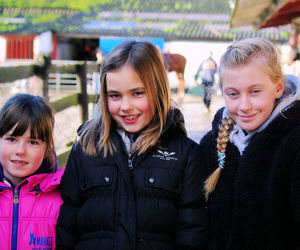 children and friends image