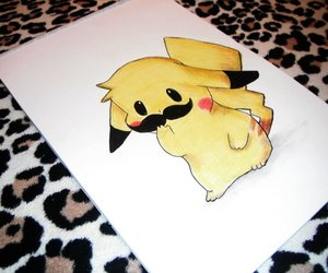 pikachu and drawing image