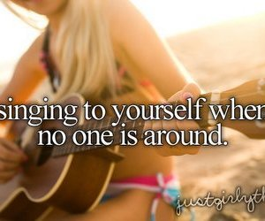alone, just girly things, and passion image