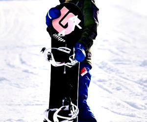 awesome, snowboard, and sports image