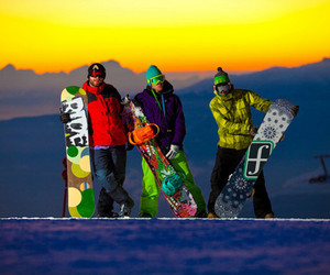 awesome, snowboard, and winter image