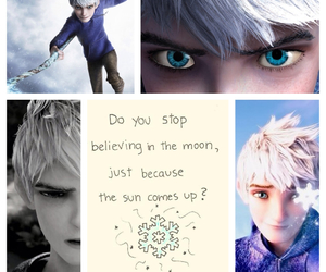 blue, eyes, and jack frost image