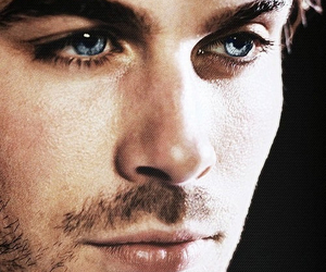 ian somerhalder, blue eyes, and the vampire diaries image