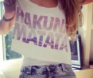 hakuna matata and shirt image