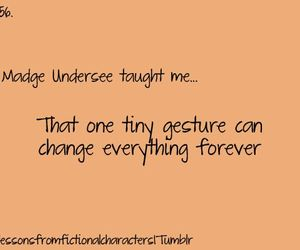 lessons, hunger games, and fictional characters image
