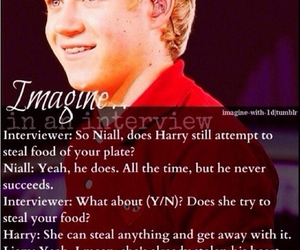 niall horan, imagine, and one direction image