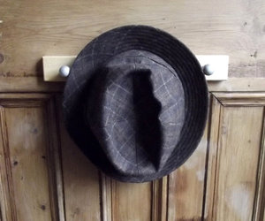 fedora, hat, and mens image
