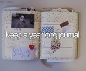 journal and bucket list image