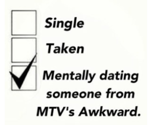 awkward, mtv, and tvshow image