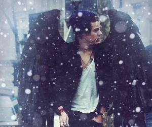 Harry Styles, angel, and one direction image