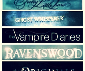 the vampire diaries, pretty little liars, and tvd image