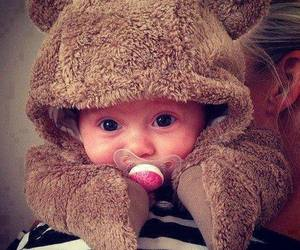 baby, bear, and cute image