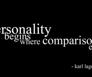 quote, personality, and karl lagerfeld image