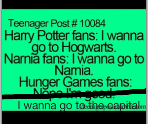 narnia, harry potter, and fan image