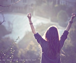 girl, free, and freedom image