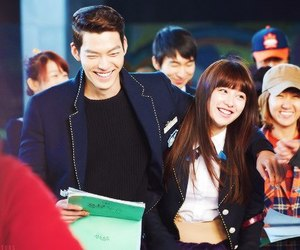 kim woo bin, kim ji won, and the heirs image