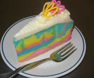 cake, blue, and colour image