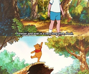 forever, friendship, and pooh image