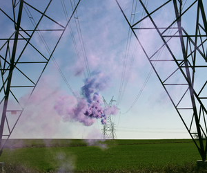 cloud, construction, and purple image