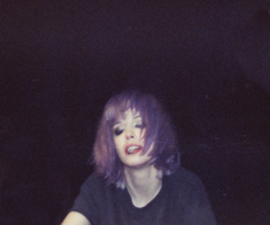 Alice Glass, Crystal Castles, and soft grunge image